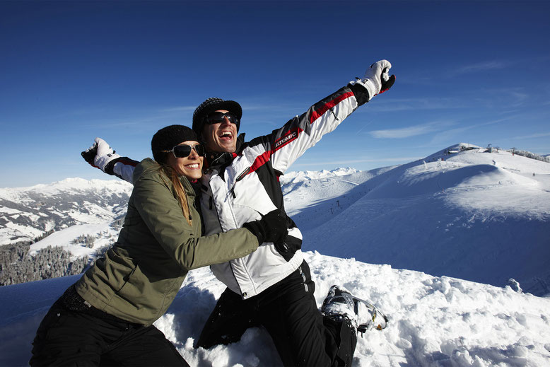 Skiing in Grossarltal-Dorfgastein ski area