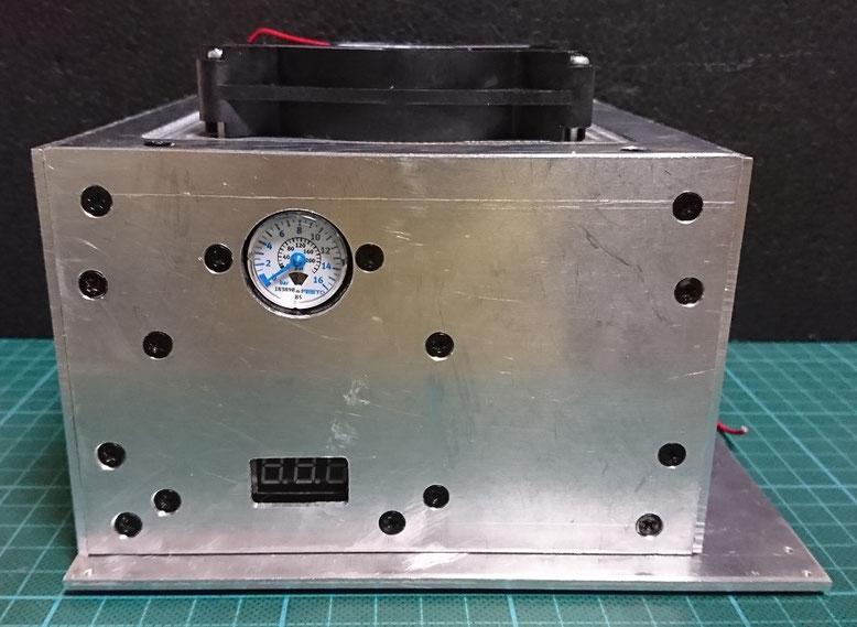 圧力計の装着