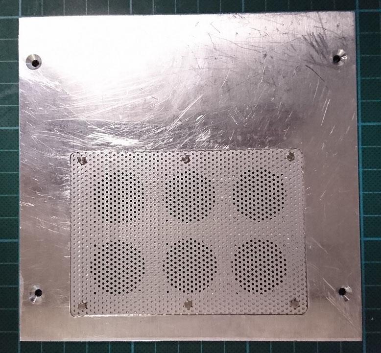 排熱口の処理