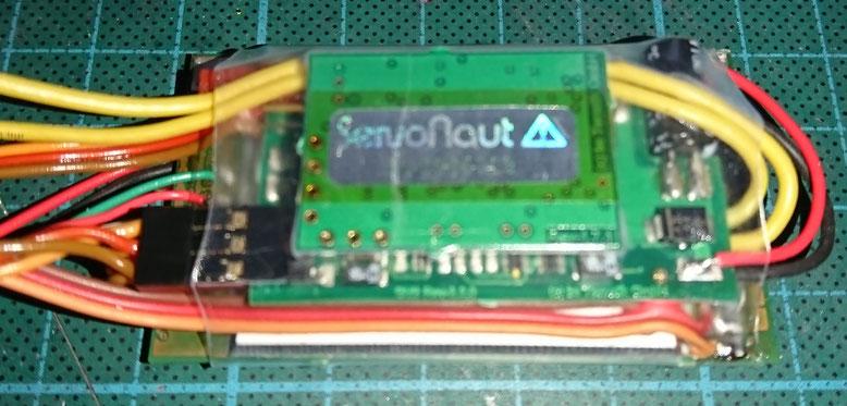 Servonaut製コントローラー2個を1つにした加工(S22とSM3)