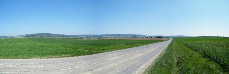 Verdun Der Weg nach Verdun Schlachtfeld Verdun