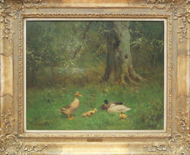 te_koop_aangeboden_een_schilderij_van_de_haagse_school_schilder_constant_artz_1870-1951