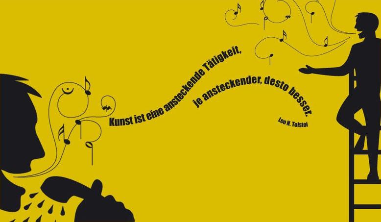 Singen ist das Lächeln der Seele