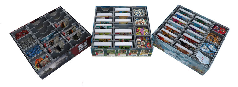 folded space insert organizer 51st state imperial settlers empires of the north