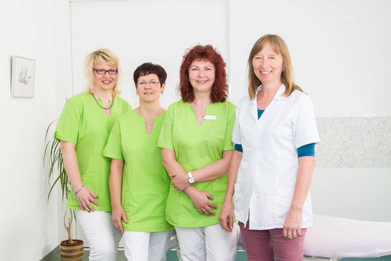 Sylvia Scheller, Sylvia Kasten, Marion Kollhoff und Elke Lampka (v.l.)