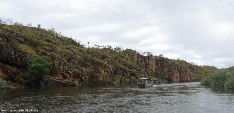 Croisière sur la Katherine River, Nitmiluk National Park, Australie