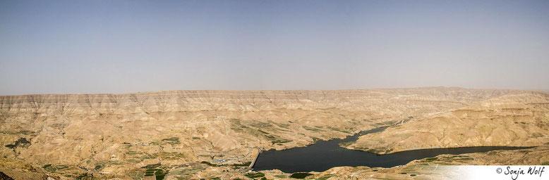 Wadi Mujib Stausee