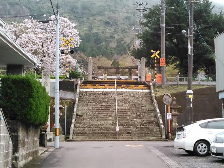 陶山神社の入口の写真