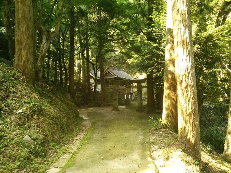 後鳥羽神社周辺の景色の写真