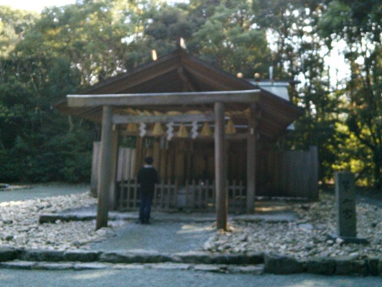 宗像大社第二宮拝殿の写真
