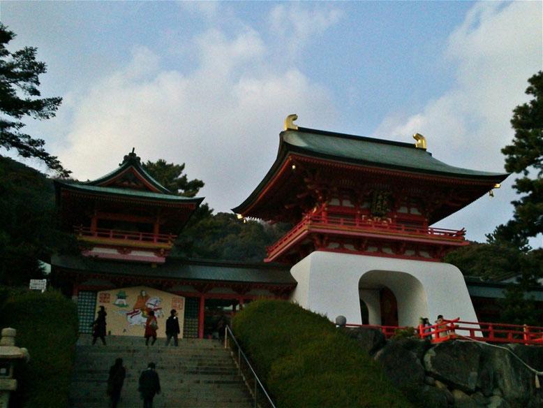 赤間神宮神門「水天門」の写真