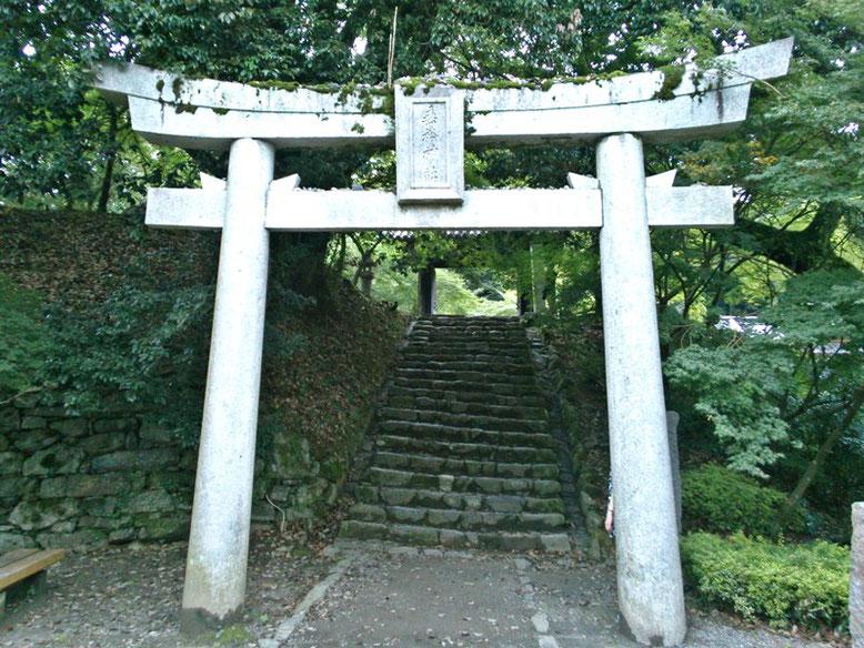 垂裕神社鳥居01番の写真