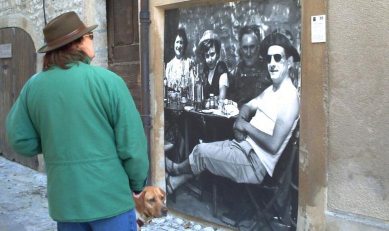 A Vaison, l'art est dans la rue.