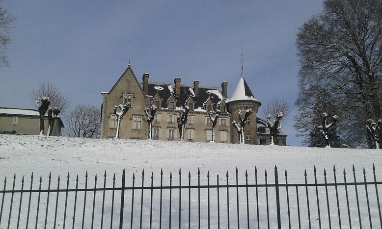 Château de Calmels à Lacaune
