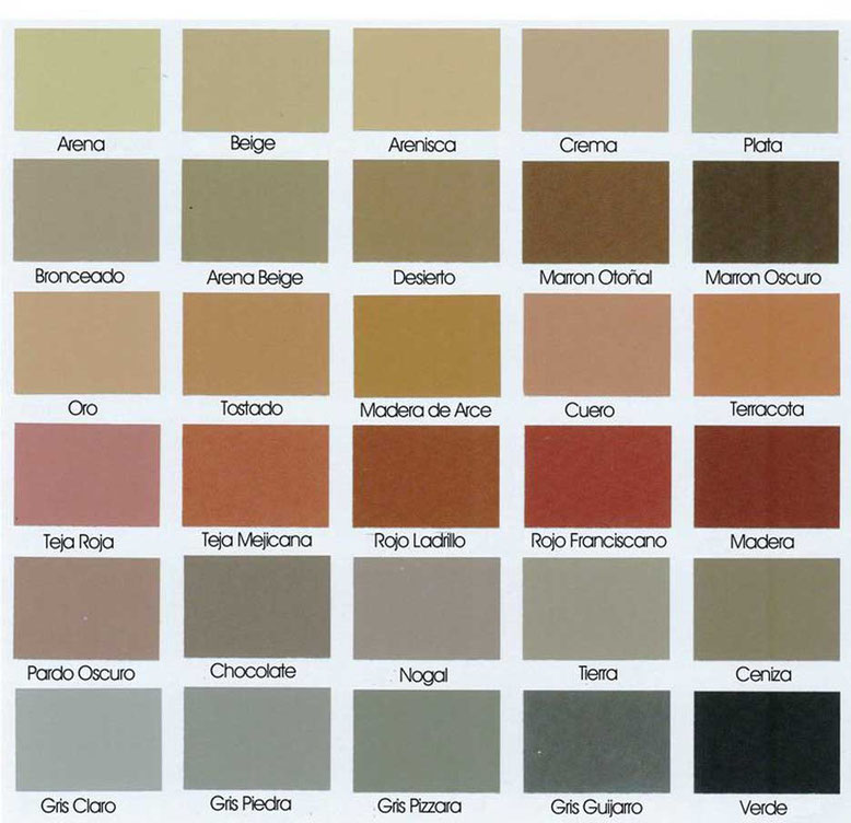 colores del pavimento impreso salamanca