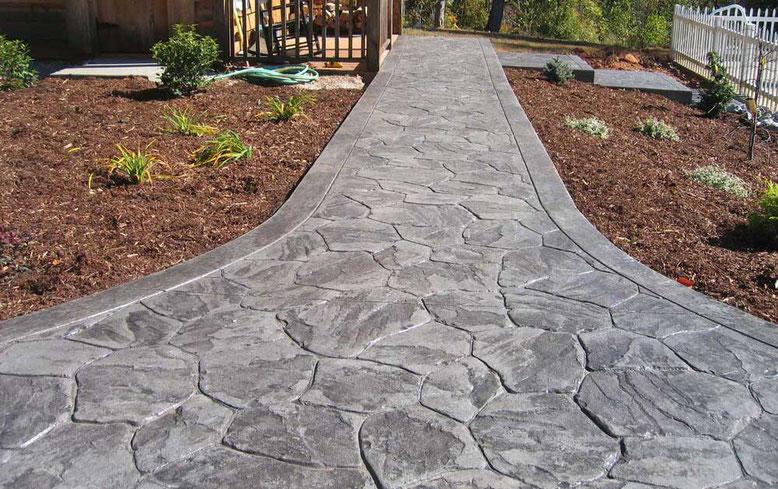 suelo hormigón imitación piedra
