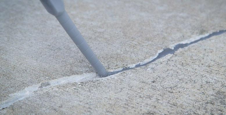 reparacion grietas del hormigón