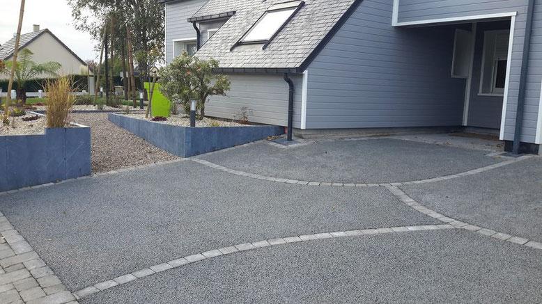 Hormigón parking