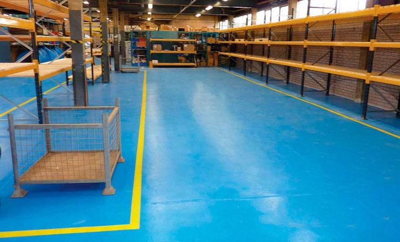 pavimento pintura resina