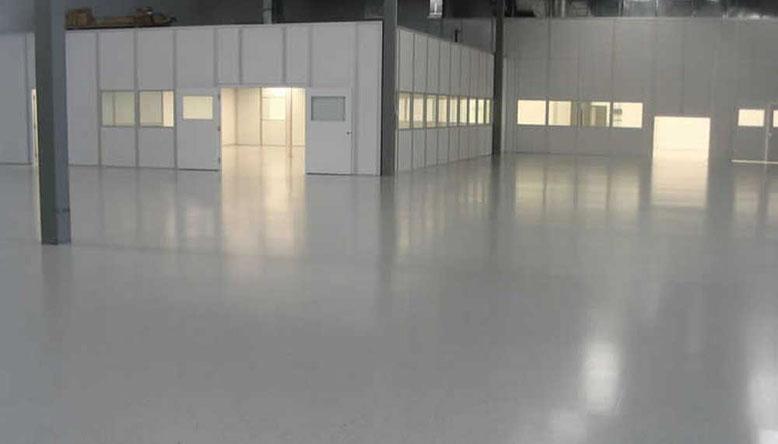 suelo para garaje en pavimento poliuretanico