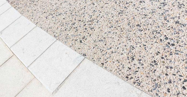 suelo exterior en hormigon desactivado