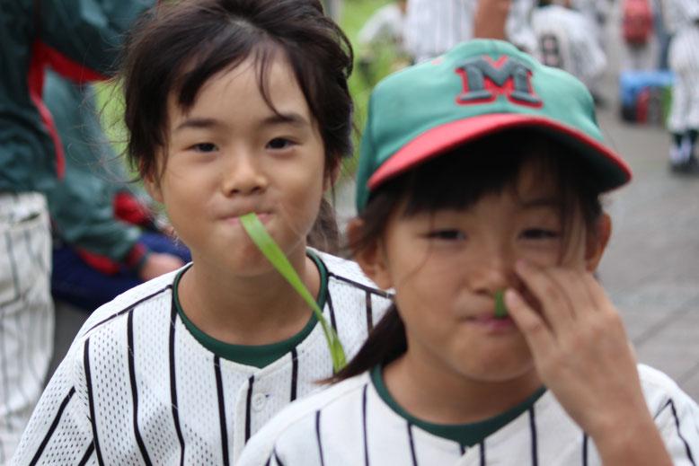 C白チームのガールズコンビ♪元加賀のCチームには現在4人女の子がいます。女子部員大歓迎です。