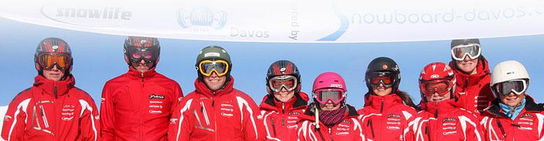 Snowboard Davos