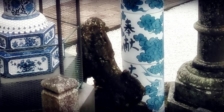 陶山神社の狛犬06番の写真