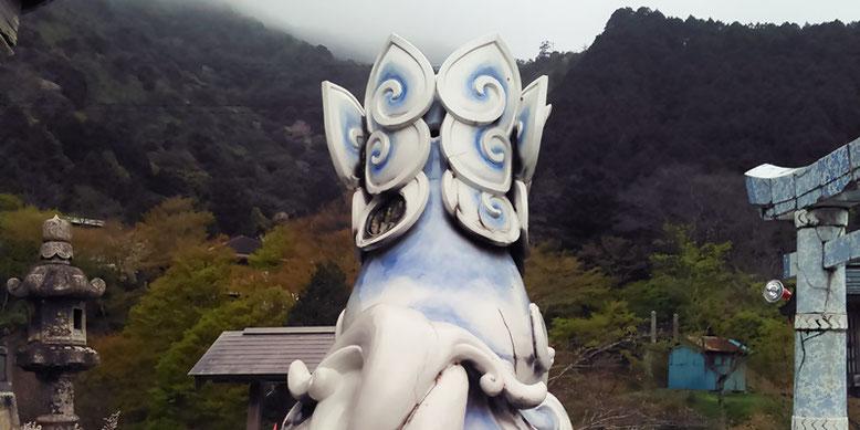 陶山神社の狛犬04番の写真