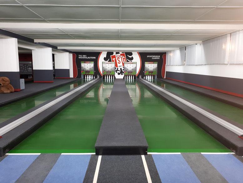 Kegelsportanlage der TSG Kaiserslautern