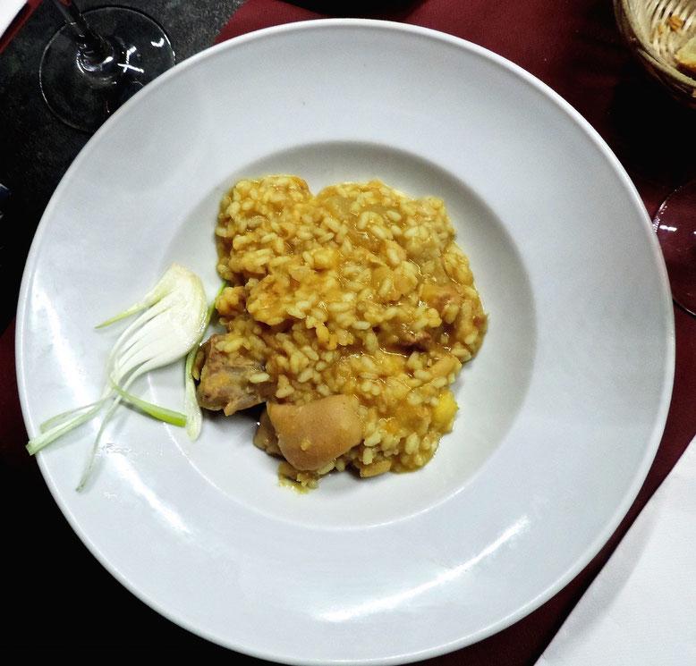 El arroz con judias y nabos (arròs amb fesols i naps)