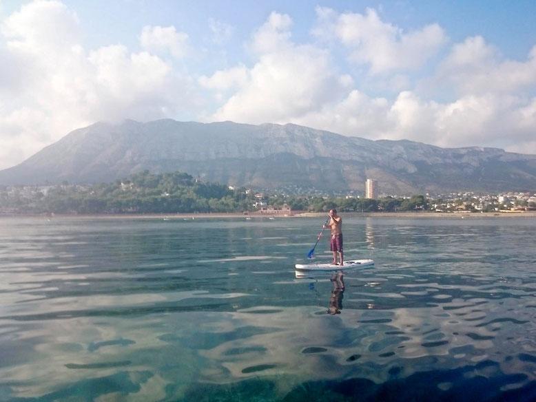 Imagen cedida por Emilio Irigoyen, del Club de Surf de Dénia