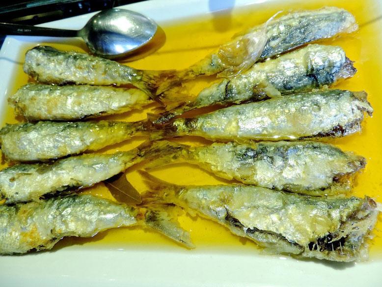 Las sardinas en escabeche del Marino. Un plato sabroso para disfrutar tras acudir a los actos de la fiesta mayor
