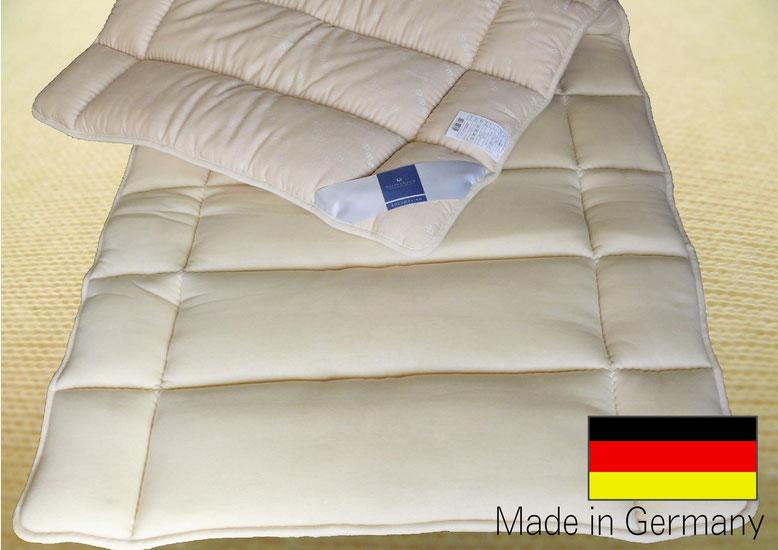 ドイツ製ビラベック ボゥルフ羊毛敷きふとん