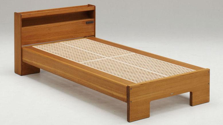組子ベッド ここちe 蜜蝋仕上げ