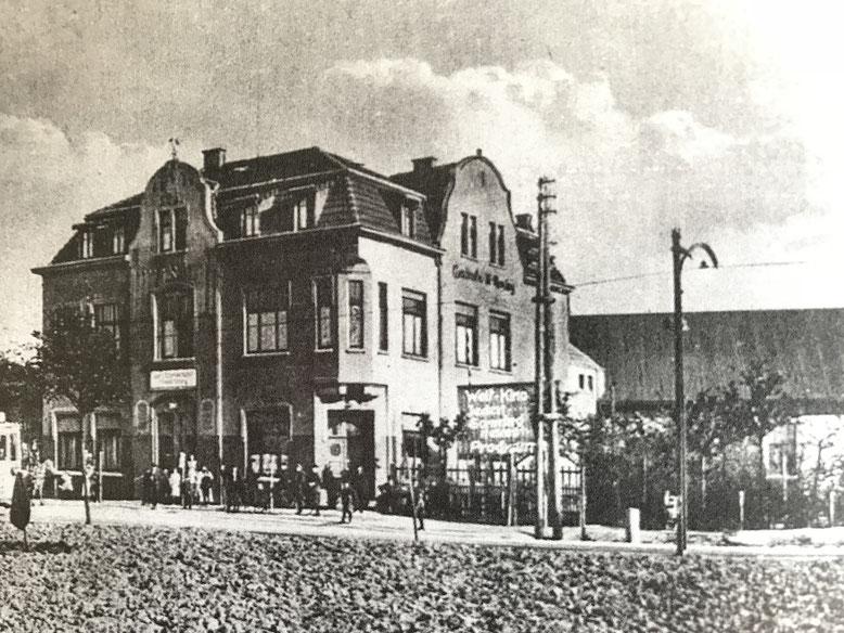 Historische Aufnahme Haus Rensing in Rünthe