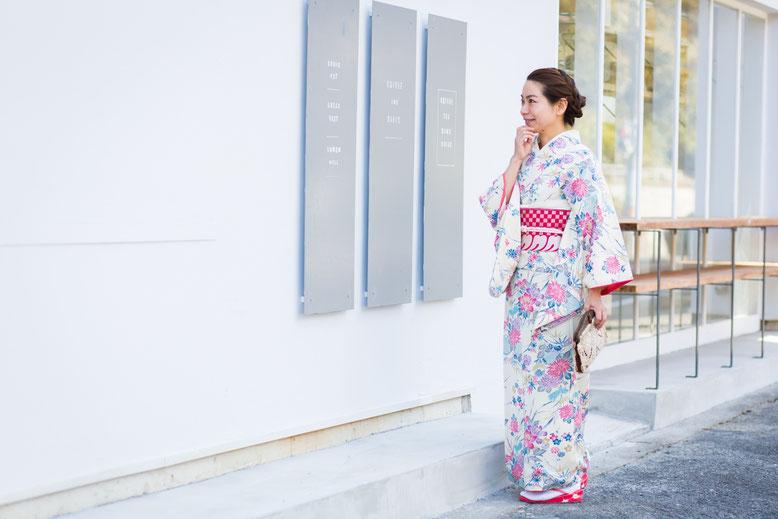 きものレッスンさくらさくら、着物、kimono