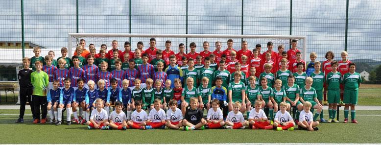 Die Jugendspielgemeinschaft in der Saison 2013/14.