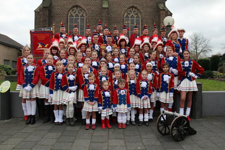 Die Stadtsoldaten/Prinzengarde feierte im Jahr 2013 ihr 30jähriges Bestehen.