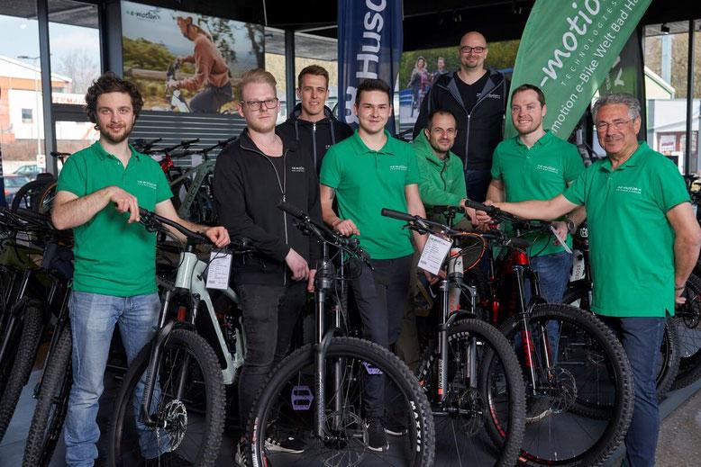 Das Experten Team vom Zentrum für Elektromobile Bad Hall in Österreich