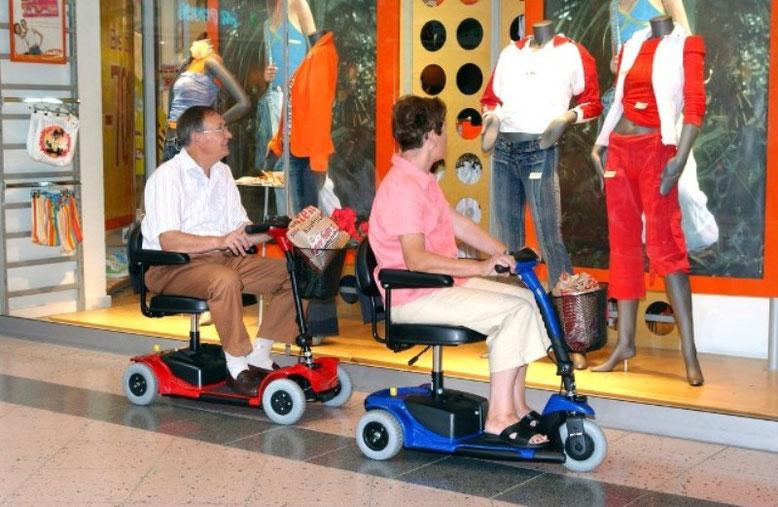 6 km/h Elektromobile für Senioren vom Zentrum für Elektromobile