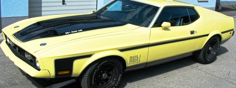 Sound Masters Ford Mustang Mach 1