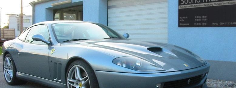 Sound Masters Ferrari 550 Maranello