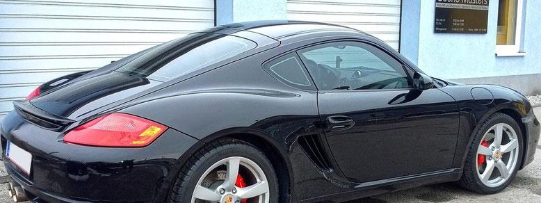 Sound Masters Porsche Cayman S