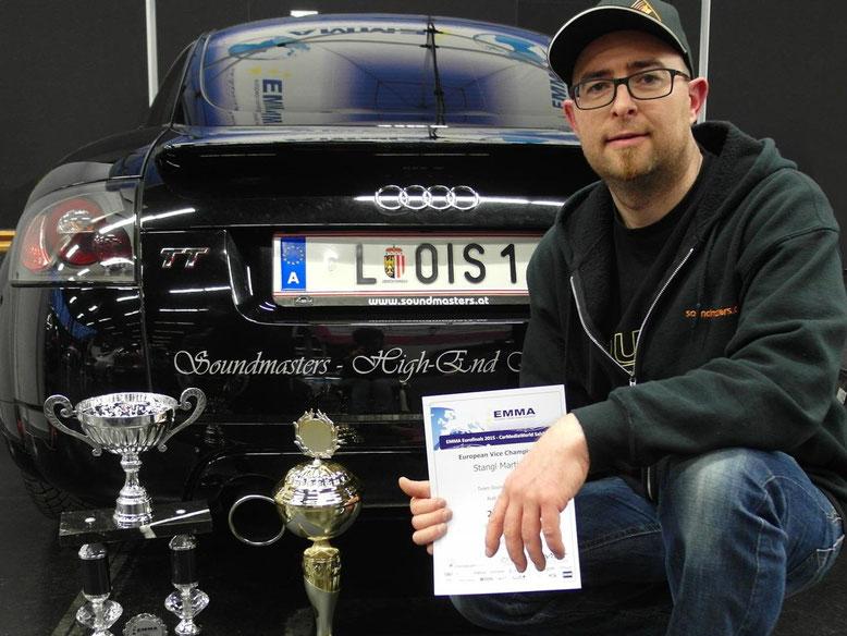 Martin Stangl Europameister