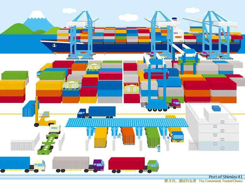 @Shin-Okitsu Container Terminal