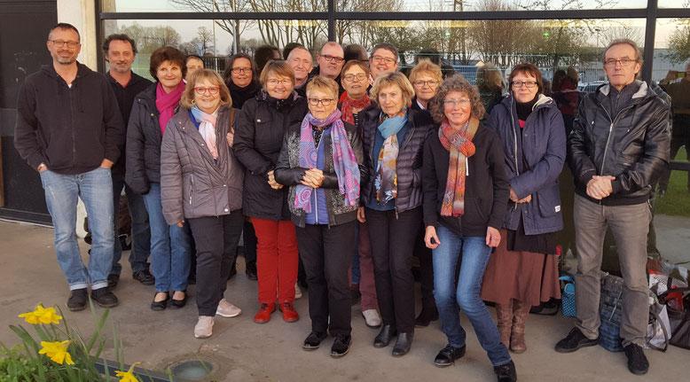 les S'Crabes à Gonfreville-l'Orcher : 17 joueurs/joueuses et arbitres