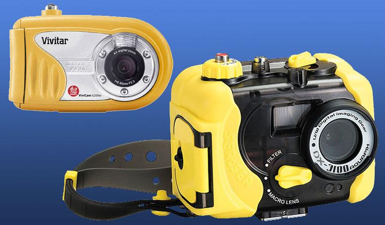 Амфибийные компакт-камеры