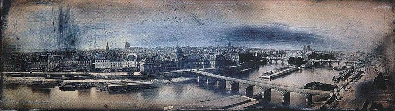 Панорама Парижа Фридриха фон Мартенса.(Нажать для увеличения)