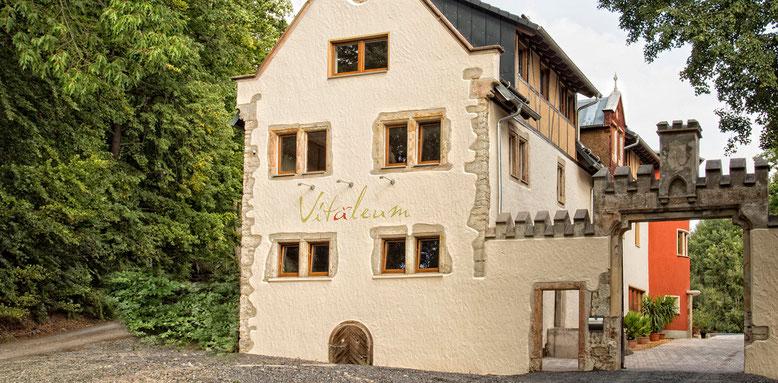 "Das Medical Nature Hotel ""Vitaleum"" in Hütten bei Pößneck  (Foto: Vitaleum)"